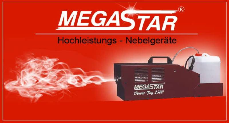 MEGASTAR Power Fog 2500, Hochleistungs